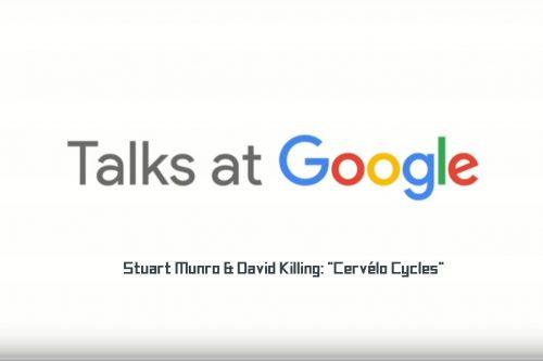 """""""Cervélo Cycles"""" – Palestras na Google"""